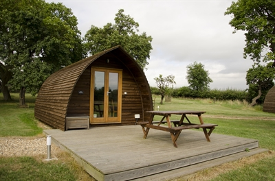 Glamping near London