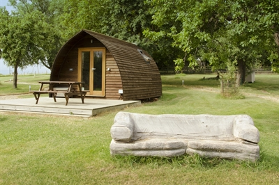 Relaxed glamping